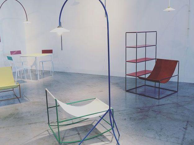 Les meubles deux en un de Muller van Severen pour Valerie objects