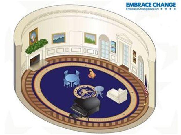 Meublez le Bureau Ovale de Barack Obama grâce à Ikea