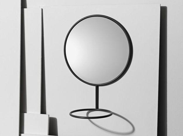 Un miroir mural double fonction