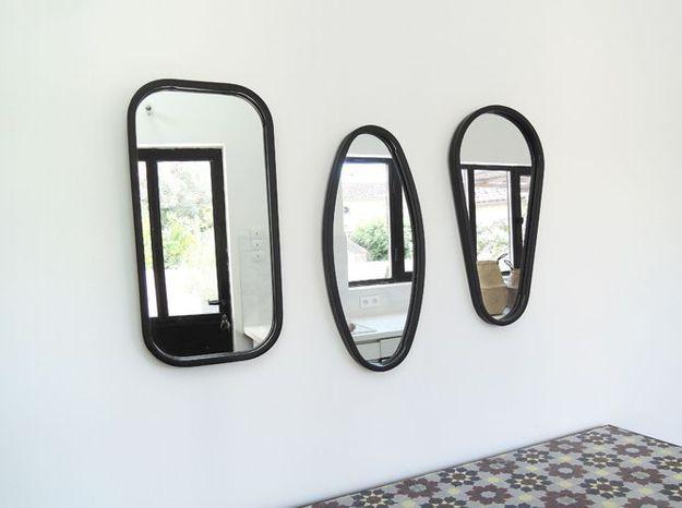 Un trio de miroirs tout en rondeur