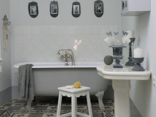 Salle de bains retro