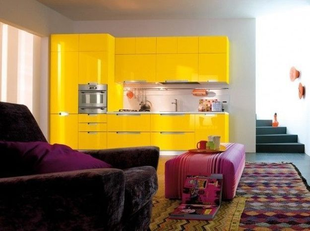 Petite cuisine jaune