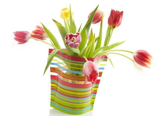 Nouveauté déco : le vase jetable !