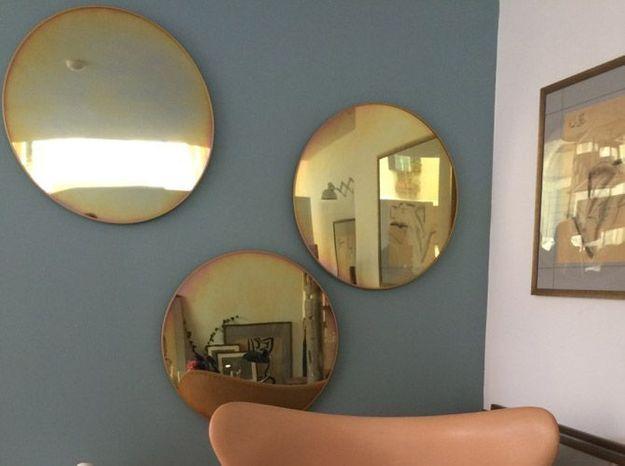 Miroir vieilli fritz hansen