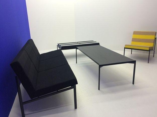 Canape fauteuil artek tissus kvadrat raf simons