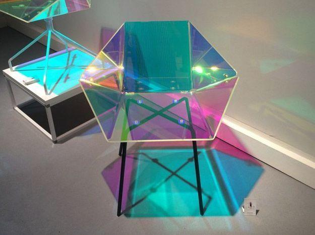 Chaise pop multicolor eli5e