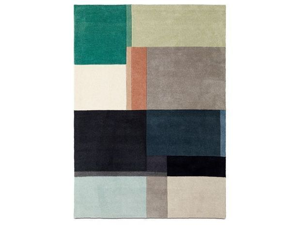Un tapis esprit mix and match