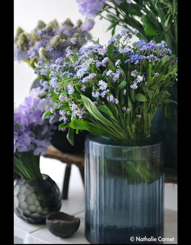 Bouquet Couleur Myosotis