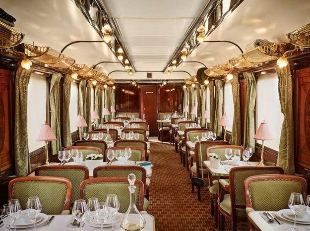 Orient Express : prenez place à bord d'un train art déco !
