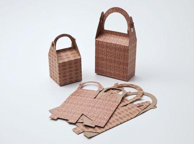 2. Les sacs et boites cadeaux