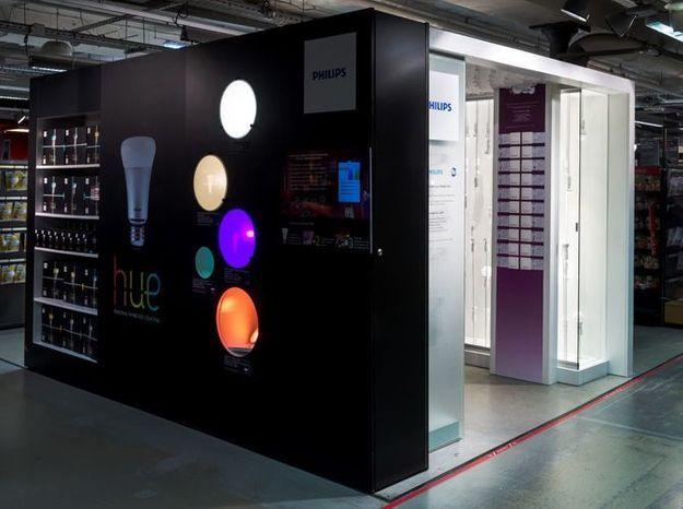 Philips ouvre deux nouveaux espaces lumière au BHV Marais