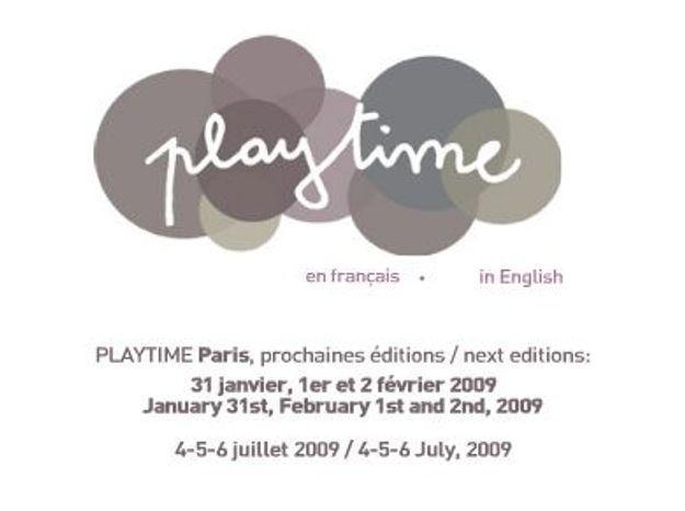 Play Time, le salon parisien dédié aux bambins !