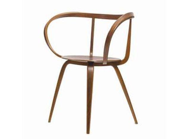 Réédition de la chaise Pretzel de Georges Nelson