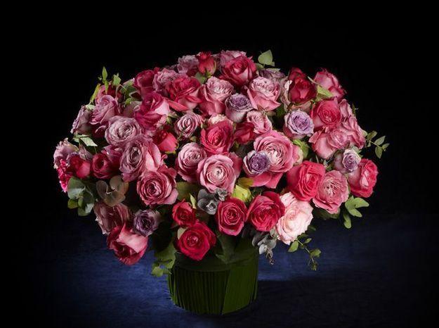 Bouquet rose saint valentin
