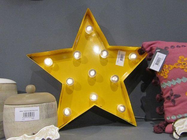 Le luminaire étoile pour les enfants