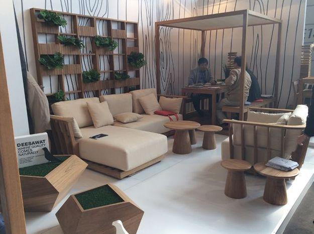Le salon de jardin design