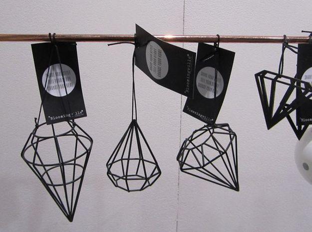 Les suspensions origami pour Noël