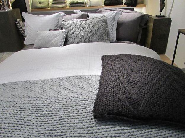 Les textiles en grosse maille