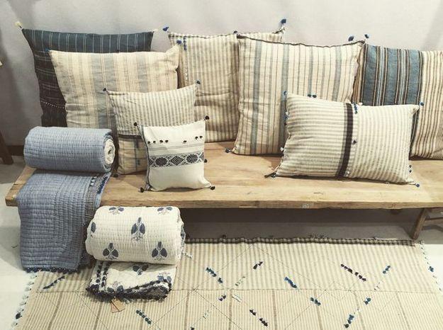 La collection de linge de lit indien d'Injiri