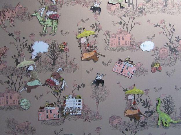 Le papier peint aimanté de Sian Zeng