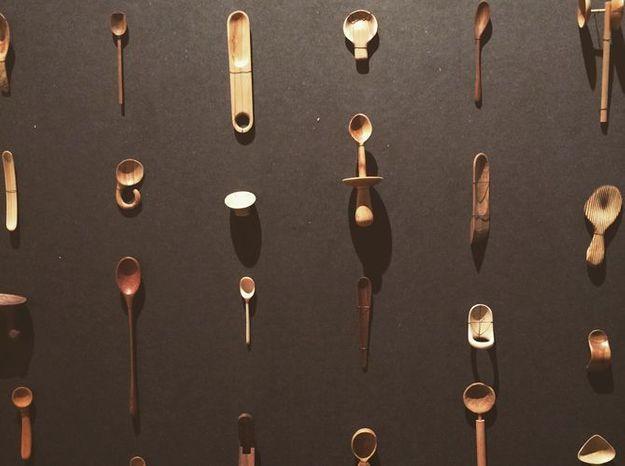 Les cuillères faites à la main du projet deStian Korntved Ruud
