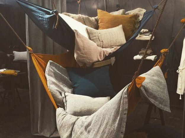 Les lits hamacs de Lissoy