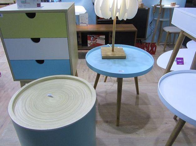 Les meubles pastel de La Chaise Longue