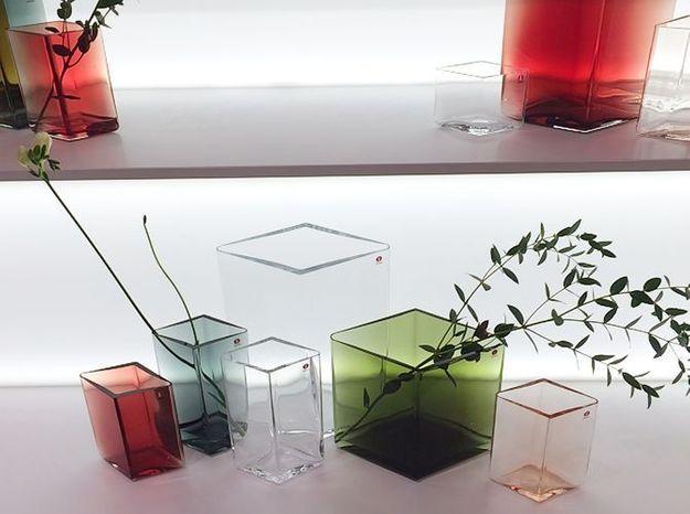 Les vases en verre des frères Bouroullec pour Iittala