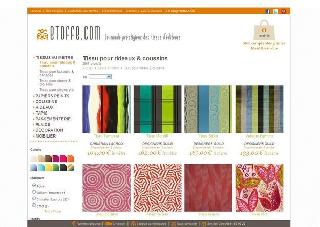 Etoffe.com pour acheter vos plus beaux tissus