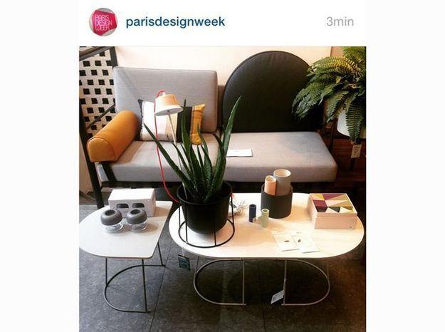 les instagram de la semaine direction maison objet elle d coration. Black Bedroom Furniture Sets. Home Design Ideas