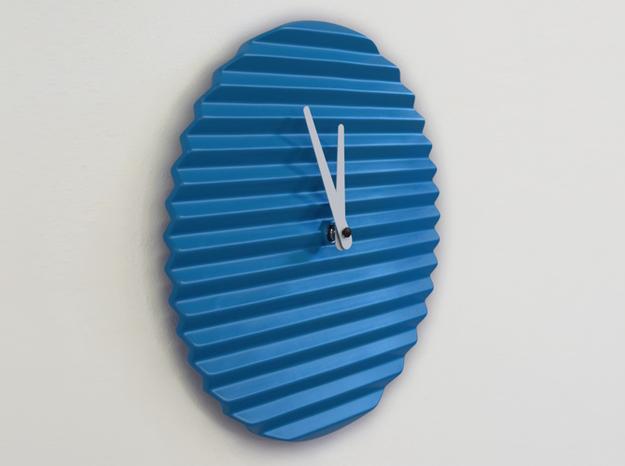 Horloge Design Bleue Lovely Market