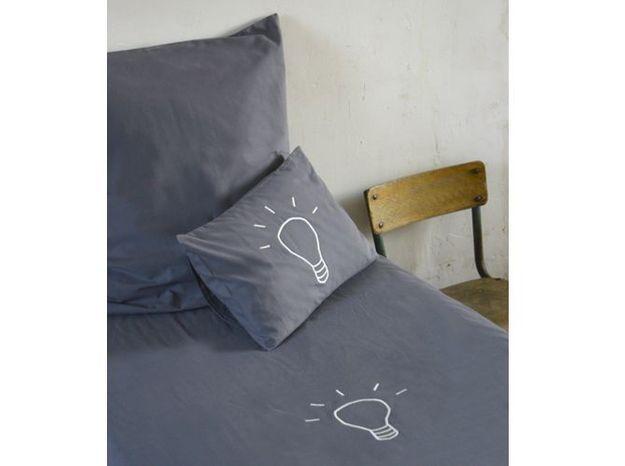 Parure de lit ampoule petites emplettes