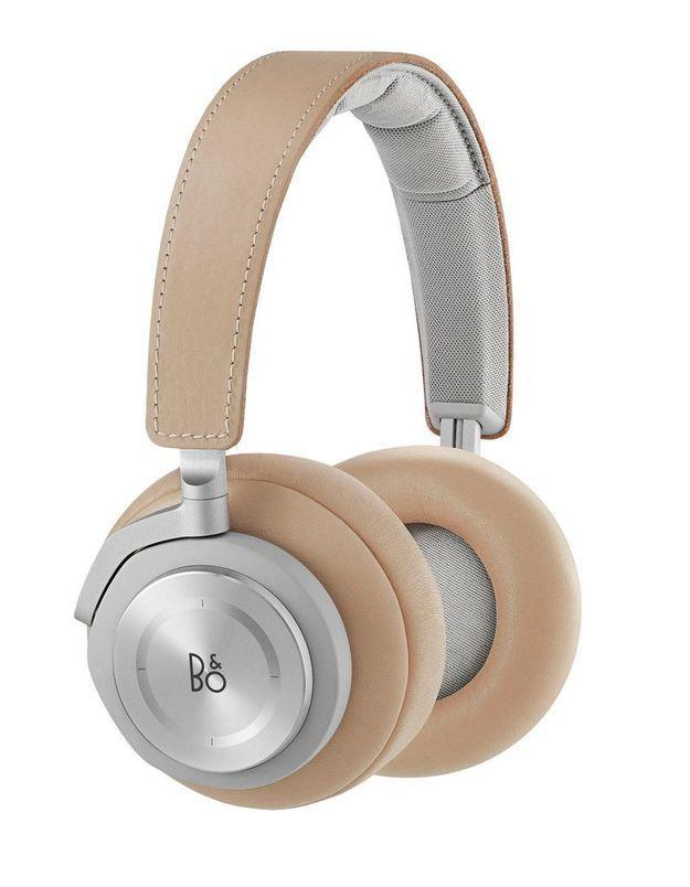 Casque audio en cuir