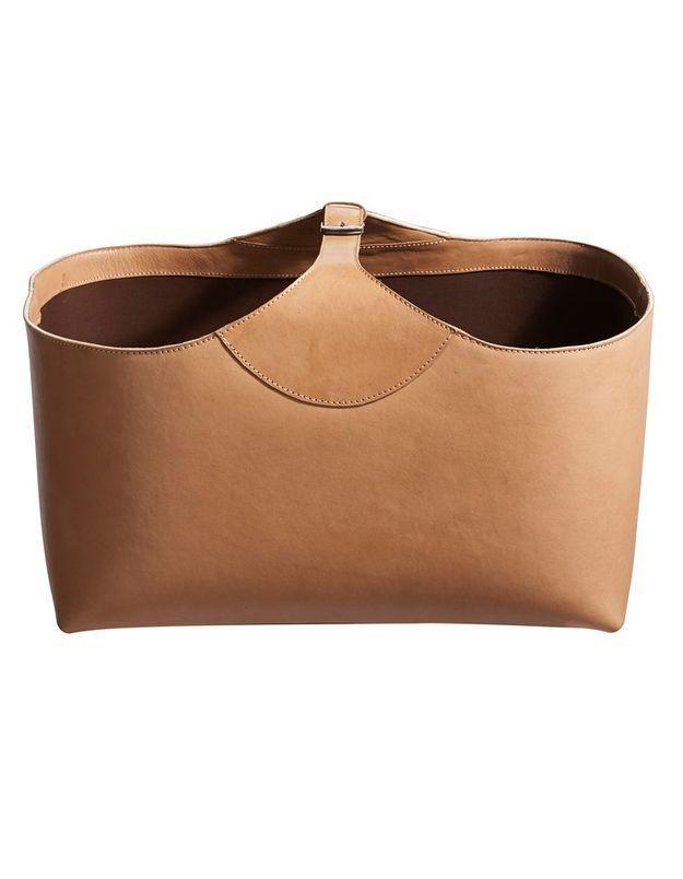 Porte-revues en cuir