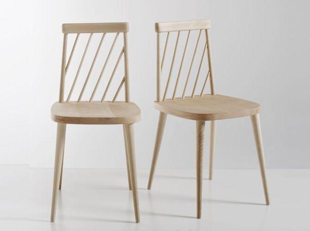 Des chaises en bois pour une touche rustique chic