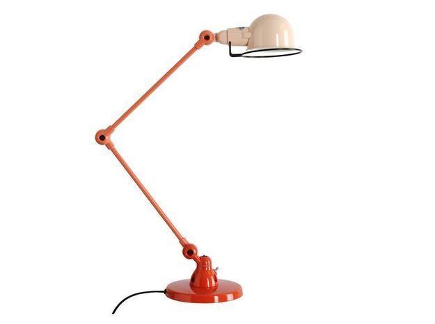 Une lampe à poser au coloris dégradé