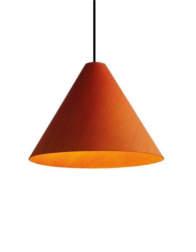 Une suspension orange