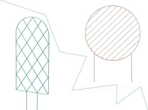 1 objet, 2 budgets : le tuteur design Ferm Living versus celui de Ikea