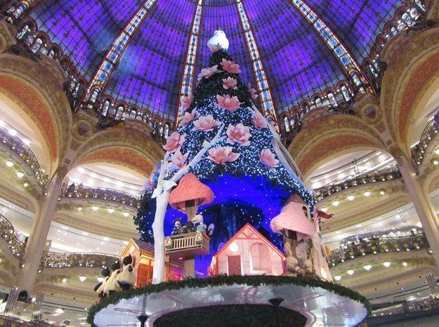 Le sapin des Galeries Lafayette (2)