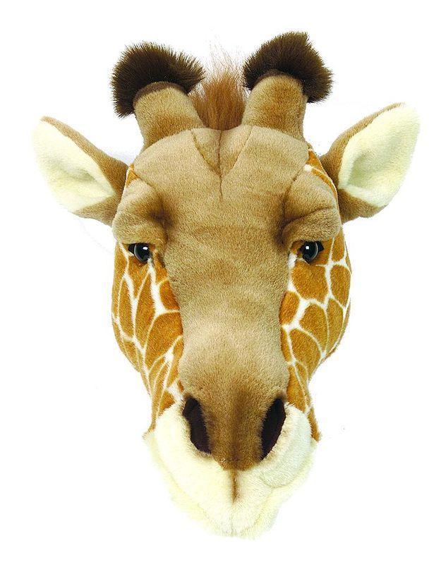 Trophée tête de girafe en peluche, Bibib, Kids love design
