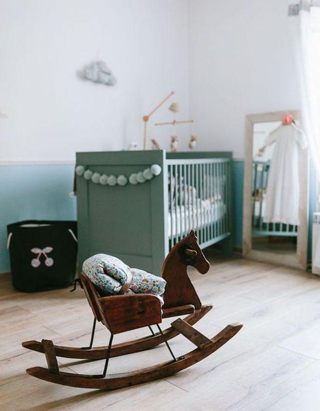 Une chambre de bébé apaisante