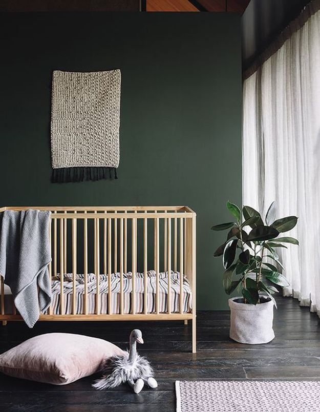 Une chambre de bébé contemporaine