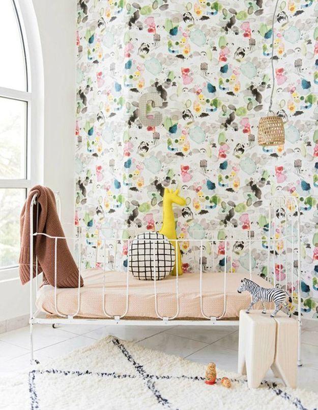 Une chambre de bébé joyeuse