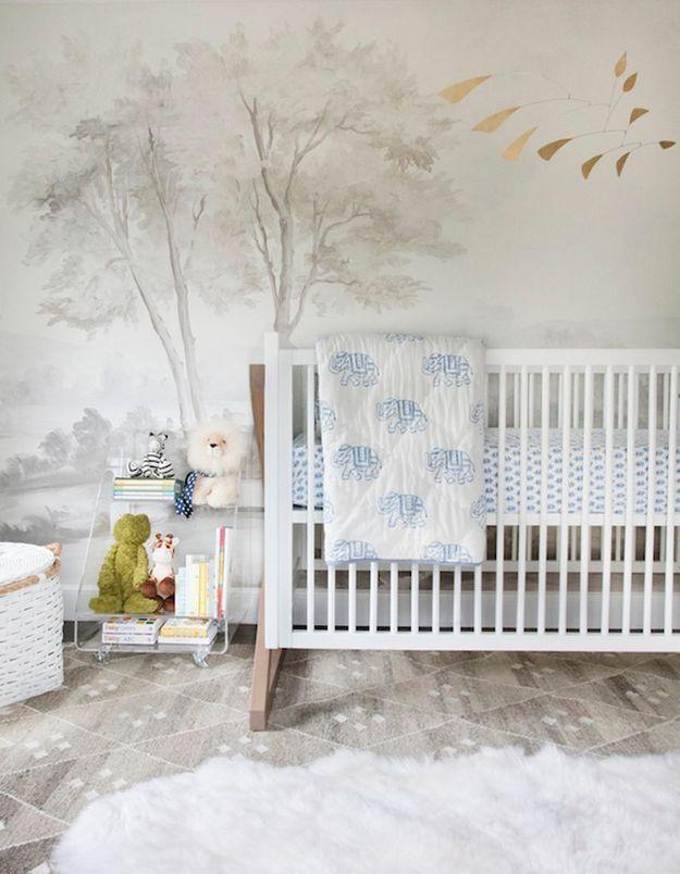 Une chambre de bébé poétique