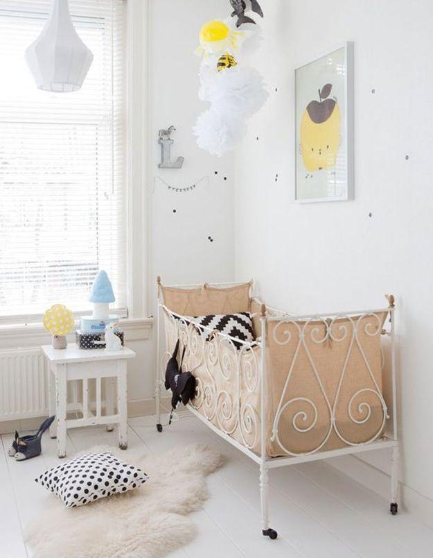 Une chambre de bébé comme une caresse
