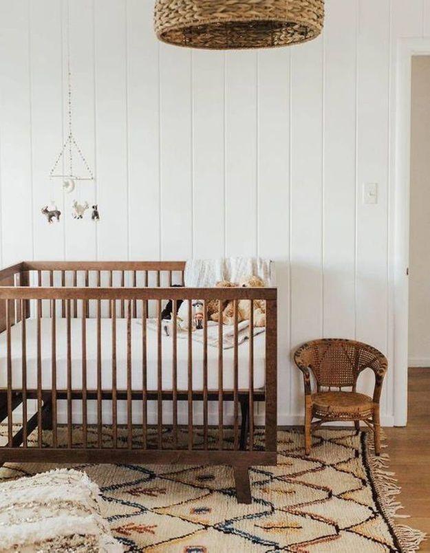 Une chambre de bébé ethnique