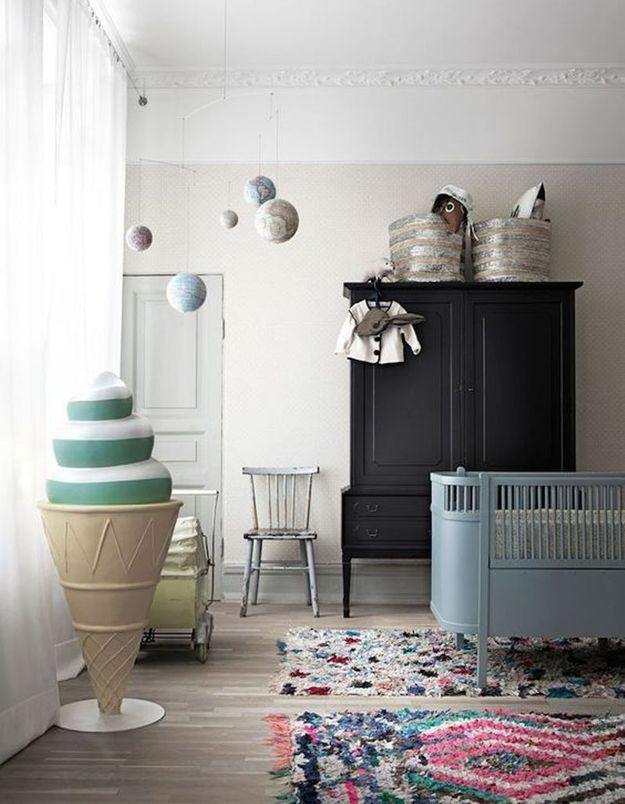 Une chambre de bébé originale