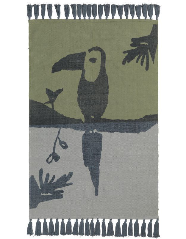 Tapis toucan pour enfant