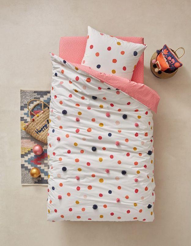 Parure de lit pour enfant Vert Baudet
