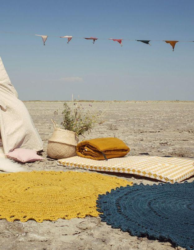 Un tapis Varanassi